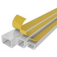 Pini albi pentru cablu cu sectiunea de 0,5 mm